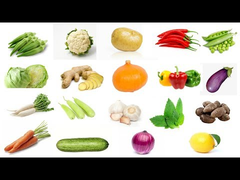 Learn Vegetable Names with Pictures for Children Kids in English | Navya Kid Tv