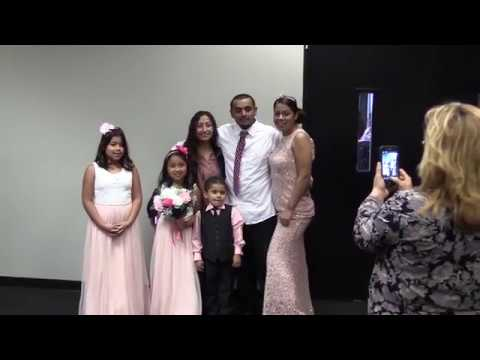 San Bernardino County couples tied the knot on Valentine's Day