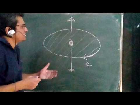 Magnetic dipole moment of electron and angular momentum basics