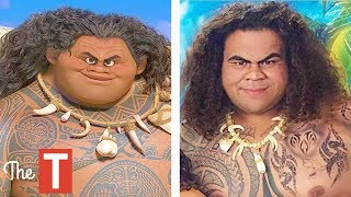 Video 10 Moana Characters In Real Life MP3, 3GP, MP4, WEBM, AVI, FLV Desember 2017
