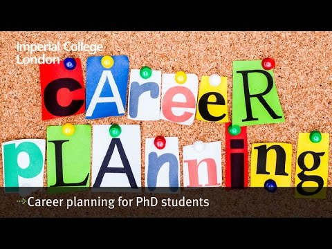 Career planning for PhD students