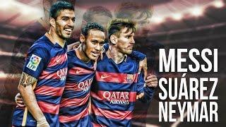 Messi, Suárez & Neymar○Magical Trio MSN○ Goals & Skills HD 2016...