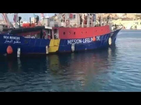 Το Lifeline στα νερά της Μάλτας