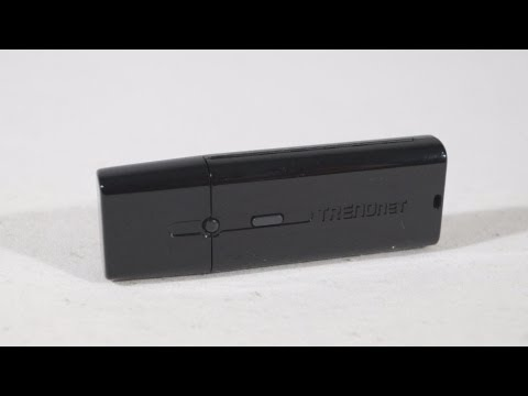 #1440 - TRENDnet AC1200 Dual Band Wireless USB Adapter Video Review