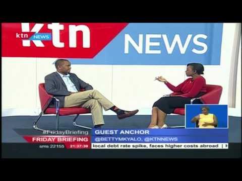 Guest Anchor: Irungu Nyakera-PS Transport on KTN's Friday Briefing, 24th June 2016