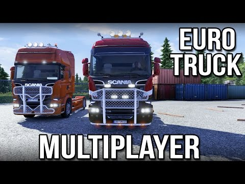Euro - I finally try out the Euro Truck Simulator 2 Multiplayer with my good friend Keralis. We have a blast making our first delivery together and chatting about the multiplayer as well as up-and-coming...