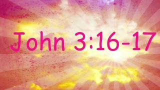John 3:16 - Bible Memory Verse Song For Children