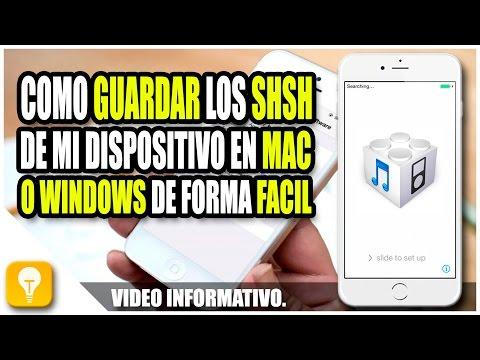 Como guardar los shsh en iOS 10, iOS 9 | TinyUmbrella iOS 10 (видео)