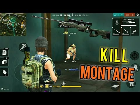 CRAZY KILLS MONTAGE! (Too Many Kills!!) - Free Fire Battlegrounds