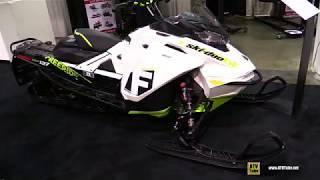 10. 2018 Ski Doo Freeride 850 E-Tec 137 Sled - Walkaround - 2017 Toronto Snowmobile Show