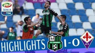 Serie A, highlights Sassuolo-Fiorentina 1-0