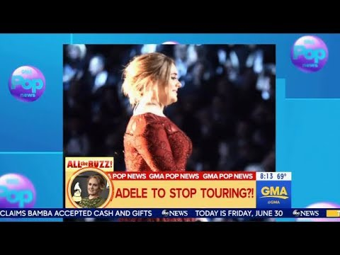 Adele To Stop Touring Ever - GMA