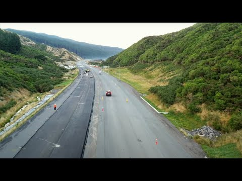 Transmission Gully motorway flythrough – February 2021