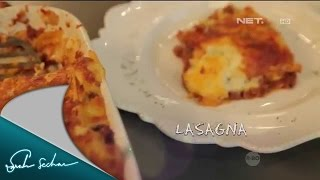 Masak On Sarah with Chef Sandra – Lasagna