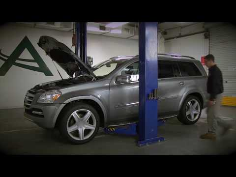 Installling the Arnott New Rear Air Spring on Mercedes-Benz GL & ML-Class A-2596