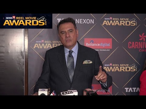 Boman Irani At Reel Movies Award 2018