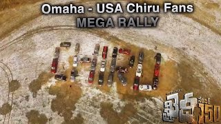Chiranjeevi Fans Omaha USA Mega Rally with twenty nine cars