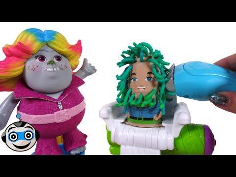 Play doh - Córtate el Pelo en la Barbería de Play-Doh