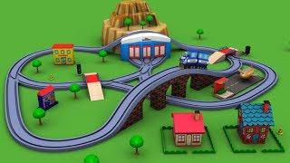 Video Trains for children - Chu Chu Train - Police Cartoon - train - toy factory - Cartoon for kids MP3, 3GP, MP4, WEBM, AVI, FLV November 2017