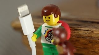 sugru community discovers - LEGO hands fit cables perfectly! - YouTube