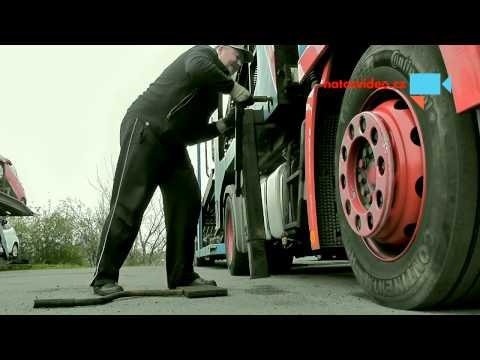 Odpojení nástavby na auta a tahače