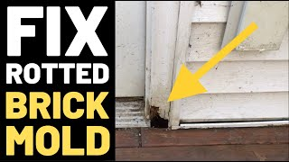 Video Fix Rotted Door Frame (Brickmold) MP3, 3GP, MP4, WEBM, AVI, FLV Agustus 2019