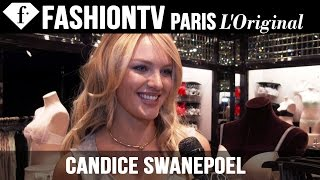 Victoria's Secret Fashion Show 2014-2015: Candice Swanepoel Exclusive Interview | FashionTV