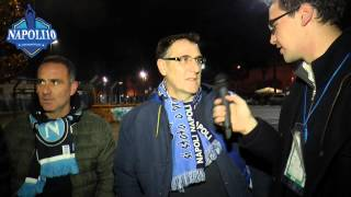 Delusione tifosi dopo Napoli-Juve 1-3