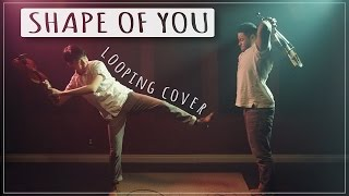 Shape of You - Ed Sheeran - Violin | Viola Loop Cover ft. ThatViolaKid Video