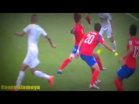 ملخص مباراة الجزائر 4-2 كوريا الجنوبية تعليق عصام الشوالي 22/6/2014