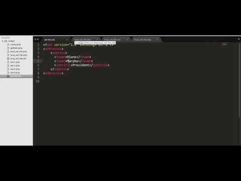 Video How to parse an external XML file using PHP download in MP3, 3GP, MP4, WEBM, AVI, FLV January 2017