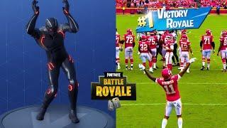 Video Fortnite Dances by Sport Stars in Real Life || HD MP3, 3GP, MP4, WEBM, AVI, FLV Mei 2019