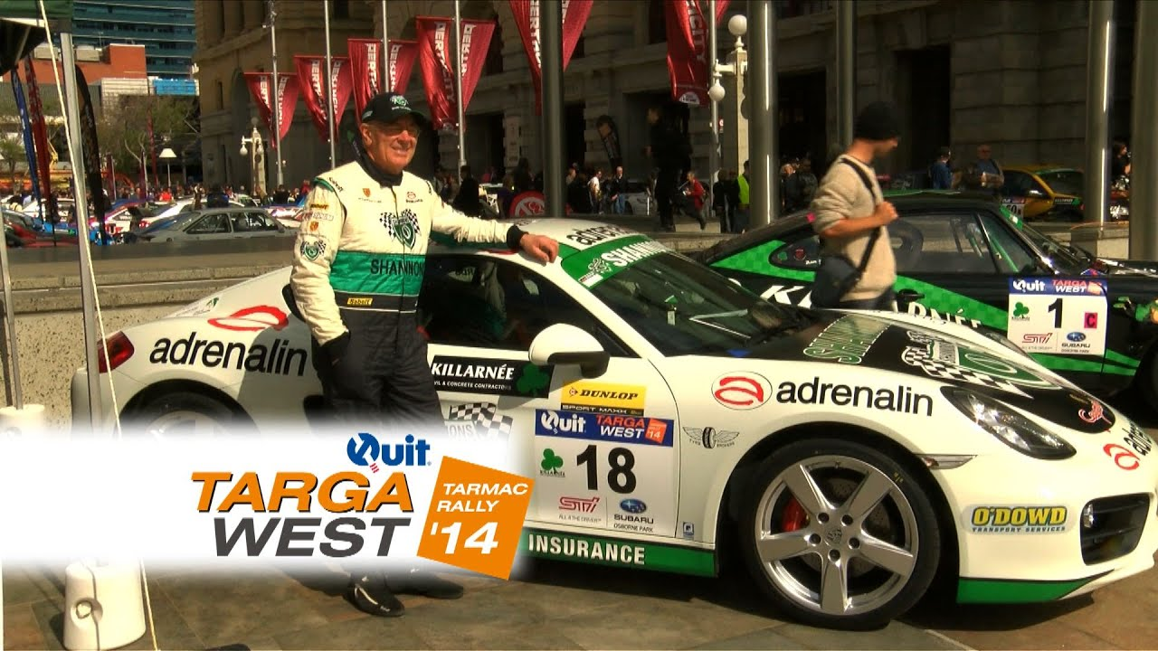 Thoughts from the Ceremonial Start – Quit Targa West 2014