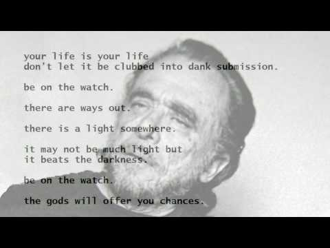 The Laughing Heart by Charles Bukowski (read by Tom O'Bedlam)