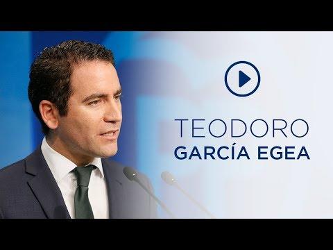 """Teodoro García: """"Es una cortina de humo y un duro ..."""