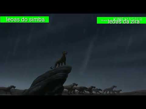 Rei leão 2 leoas do simba vs leoas da zira with healthbars parte 1