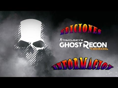 EDICIONES + INFORMACION DE Tom Clancy's Ghost Recon Wildlands (видео)