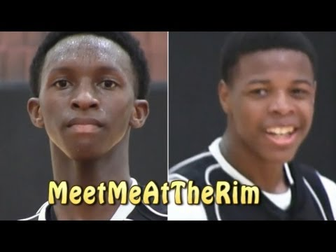 HIGHFLYING FRESHMAN DUO Kwe'Shaun Parker And Dennis Smith Dominate First Two AAU Events