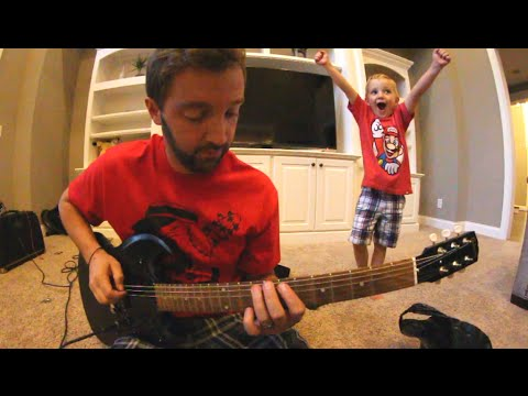 SKATE & GUITAR WITH MY SON!