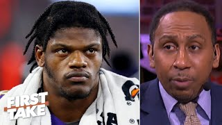 Stephen A. doesn't hold back on criticizing Lamar Jackson | First Take