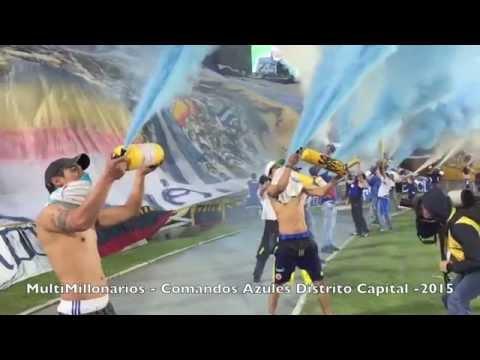 COMANDOS AZULES Vs Medellin - Comandos Azules - Millonarios