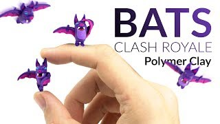"Please watch: ""Lugia (Pokemon) – Polymer Clay Tutorial"" https://www.youtube.com/watch?v=15hHtHiKSuc-~-~~-~~~-~~-~-Hey guys! Here we go: The bats polymer clay tutorial AND I am opening my first legendary chest in clash royale :DThis is part 2 of the Night Witch clay tutorial, beside the bats step by step tutorial I show how to glue them to the Witch!-----------------------------------------------------------LINKS:Night Witch tutorial ▸ https://youtu.be/6ZK6K2Ctu4YTOP 10 modeling tools ▸ https://youtu.be/Q6ri4g6dtTs-----------------------------------------------------------More ways to follow me:Instagram ▸ https://www.instagram.com/clayclaim/Snapchat  ▸ https://www.snapchat.com/add/clayclaimFacebook ▸ https://www.facebook.com/clayclaimTwitter ▸ https://twitter.com/ClayClaimEtsy ▸ coming soon ;)"