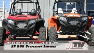 10. ATV Television - Polaris RZR XP 900 Suspension Basics & Lowering