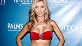 Joanna Krupa Sizzles In A Red Bikini