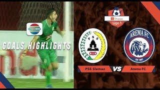 PSS Sleman (3) vs Arema Malang (1) - Goal Highlights | Shopee Liga 1