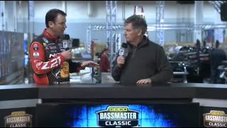 KVD on Live Bassmaster Classic coverage