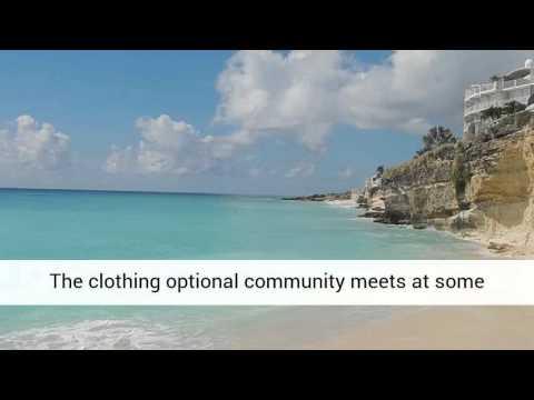 Cupecoy Beach - On Top of The Beach @ St. Maarten
