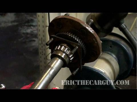 How To Remove Pressed-on Bearings – EricTheCarGuy
