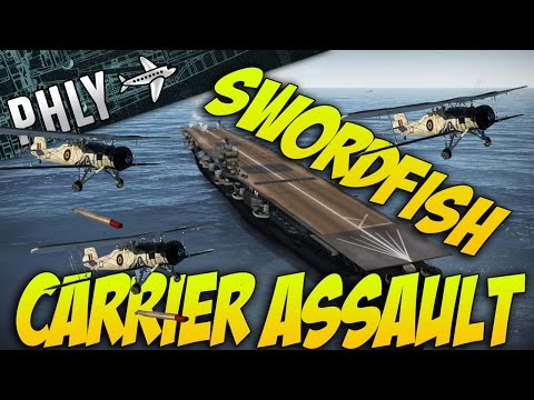 Thunder - War Thunder- SwordFISH Carrier Assualt WITH BARON! War Thunder Gameplay War Thunder has some of the best fun in the lowest tiers! BARONS CHANNEL! https://www.youtube.com/user/BaronVonGamez...