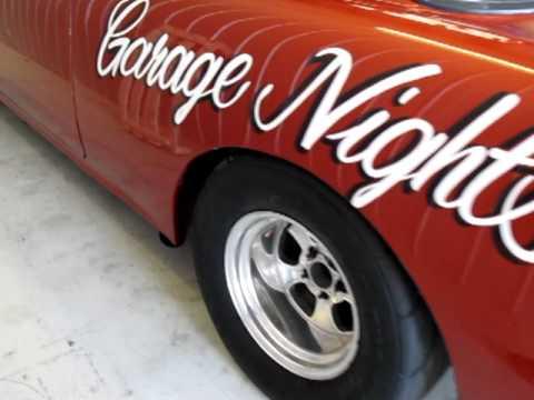 1955 CHEVROLET GASSER GARAGE NIGHTS 55 CHEVY BLOWN BIG BLOCK ON E85 HUNTING